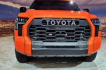 2022款丰田Tundra避开牵引钩从钢铁侠那里汲取灵感