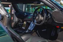 令人惊叹的绿色碳纤维KoenigseggAgeraS在网上拍卖