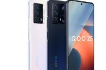iQOO在发布了他们最新的智能手机iQOOZ5