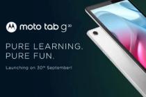 摩托罗拉MotoTabG20智能手机下周发布